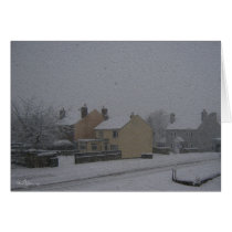 Snow on Union Street, Harthill with Woodall.