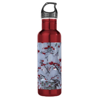 Snow on your berrys? stainless steel water bottle