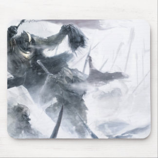 Snow Orc Army Mouse Pad