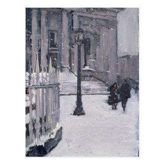 Snow outside St. Paul's 2009 Postcard