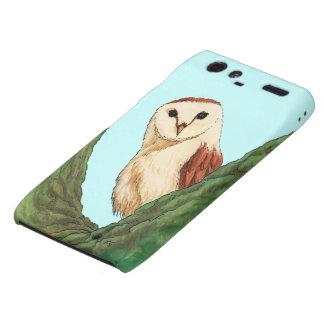 snow owl animal droid RAZR cases