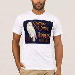 Snow Owl Apples T-Shirt