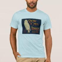 Snow Owl Brand Apples T-Shirt