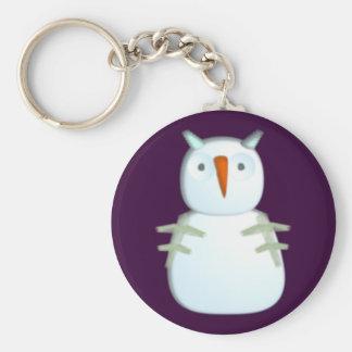 Snow owl Eurle snow owl Keychain
