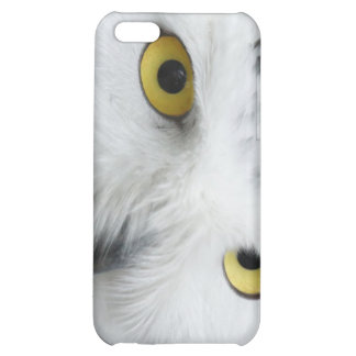 Snow Owl Eyes Case For iPhone 5C