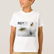 Snow Owl Eyes T-Shirt