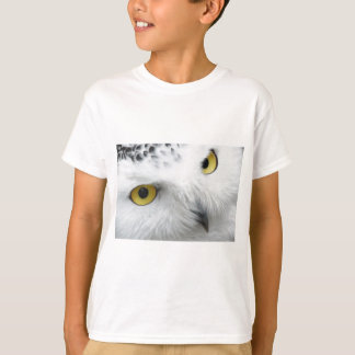 Snow Owl Eyes T-Shirt