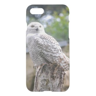 Snow owl iPhone 7 Clearly™ Deflector Case