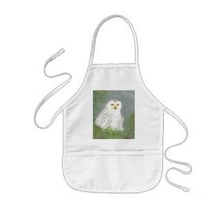 Snow Owl Kids' Apron
