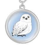 snow owl pendant