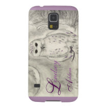 Snow Owl Phone Case