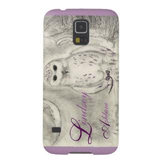 Snow Owl Phone Case