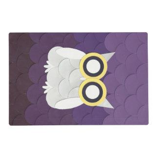 Snow Owl Placemat