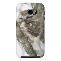 Snow Owl Samsung Galaxy S6 Case