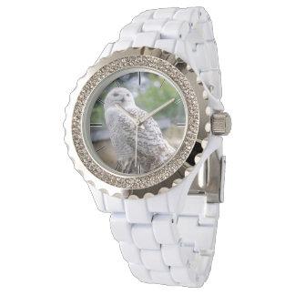 Snow owl wristwatches