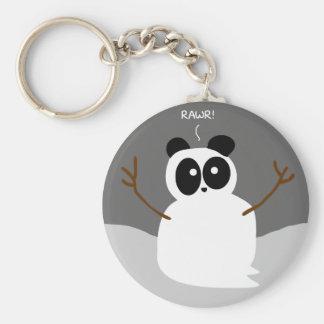 Snow Panda Keychains