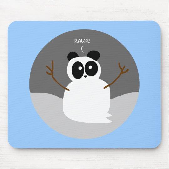 Snow Panda Mouse Pad