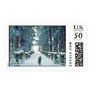 Snow Path Postage