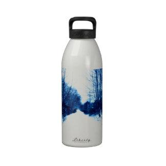Snow Path Reusable Water Bottle