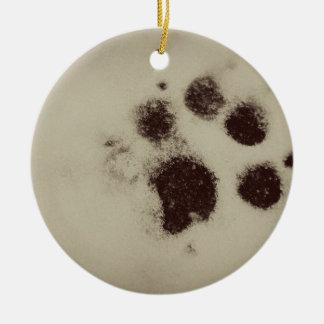 Snow Paw ornament
