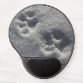 Snow paws mouse pad gel mouse pad