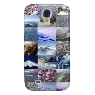 Snow Photo Collage Samsung Galaxy S4 Cases