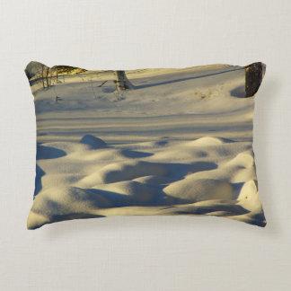 Snow Pillows Accent Pillow