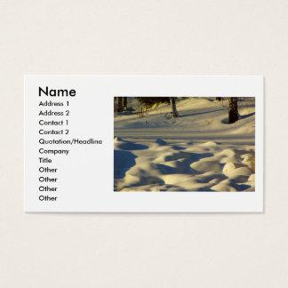 Snow Pillows Business Card