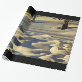 Snow Pillows Wrapping Paper