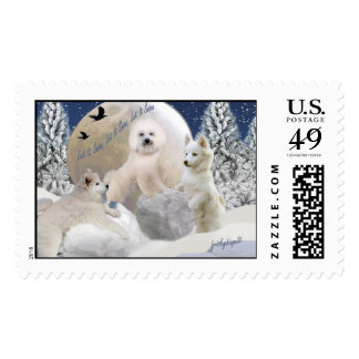 Snow Play Let It Snow Postage