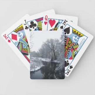 Snow Poker Deck