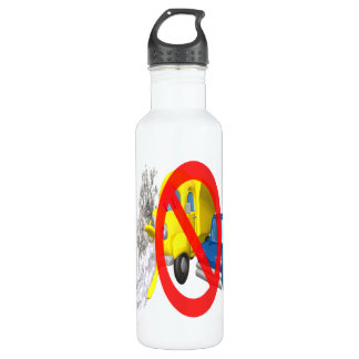 Snow Plow Safety Water Bottle