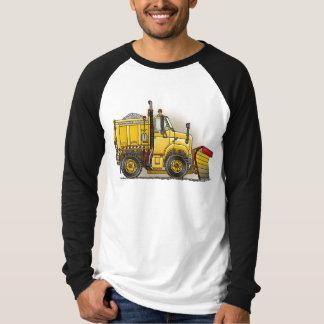 Snow Plow Truck Adult Shirt