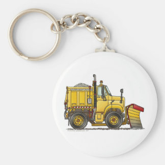 Snow Plow Truck Key Chains