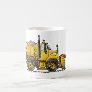 Snow Plow Truck Mugs
