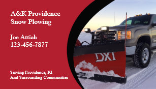 Snow removal business cards templates zazzle snow plowing business card colourmoves Images