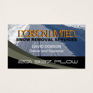 Snow plowing business cards templates zazzle snow plowing business card colourmoves Images