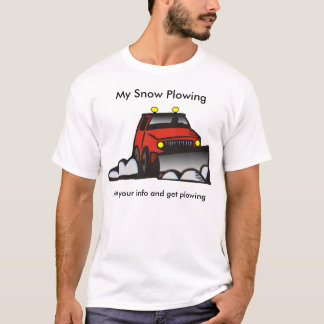 Snow Plowing T-Shirt