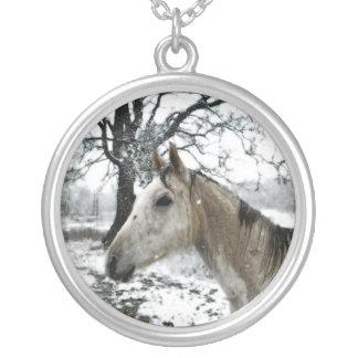 """""""Snow Pony"""" Necklace"""