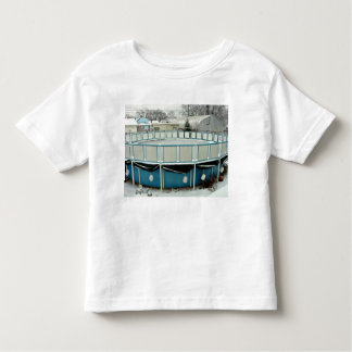 Snow Pool above Ground Toddler T-shirt