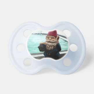 Snow Pool Gnome Pacifier