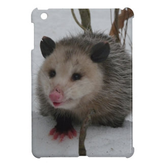 Snow Possum iPad Mini Case