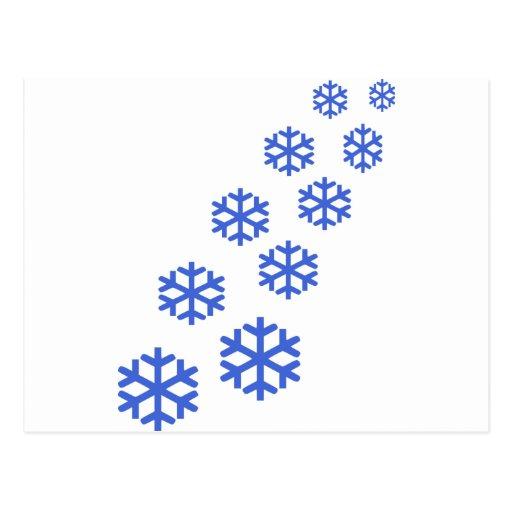 Snow Post Cards