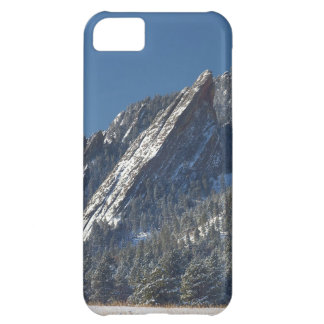 Snow Powder Dusted Flatirons Boulder Colorado iPhone 5C Cases