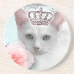 Snow Princess Drink Coaster