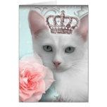 Snow Princess Greeting Card