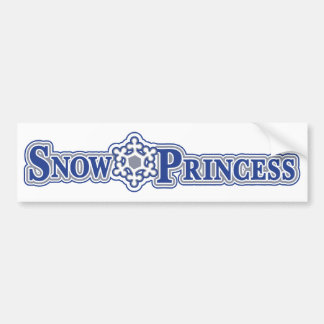 Snow-Princess-Light Bumper Sticker