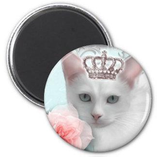 Snow Princess Fridge Magnet