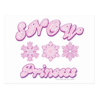 Snow Princess Postcard