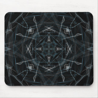Snow Prism Graphic Mouse Pad
